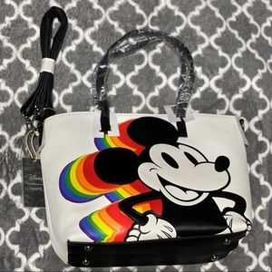 Loungefly Disney Mickey Mouse Satchel bag.